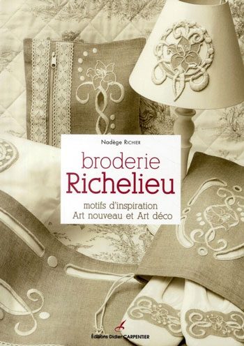 Broderie Richelieu From Editions Didier Carpentier  Books