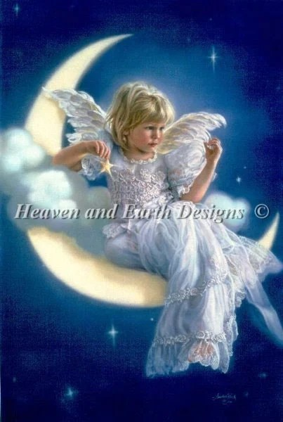 Moon Angel From Heaven And Earth Designs Cross Stitch