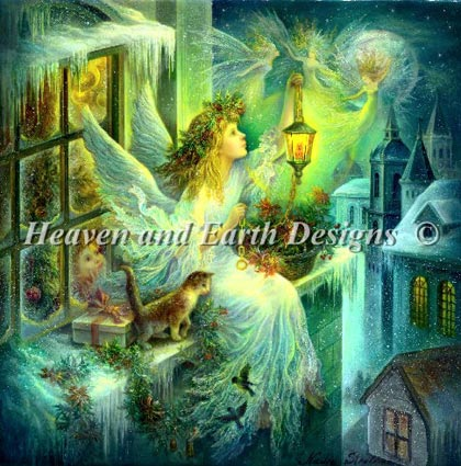 Christmas Wonder From Heaven And Earth Designs Cross