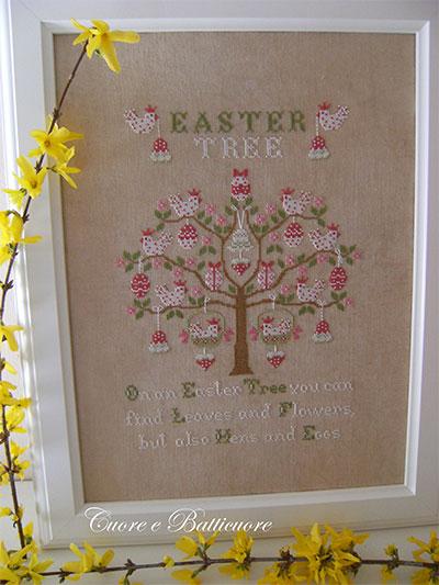 Easter Tree da Cuore e Batticuore  Schemi Punto Croce  Schemi Punto Croce  Casa Cenina