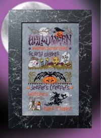Halloween From Stoney Creek Collection - Cross Stitch ...