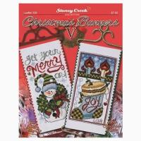 Christmas Banners V From Stoney Creek Collection - Cross ...