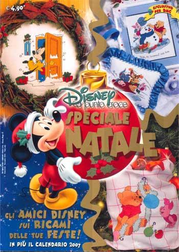 Disney a Punto Croce  Speciale Natale da Cross Stitching  Libri  Riviste  Libri  Riviste