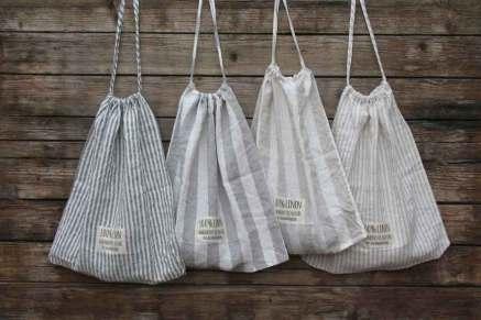 Collectie gestreepte linnen dekbedovertrekken - Casa Homefashion - online te koop bij Casa Comodo