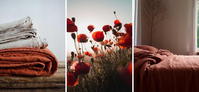 Kleurrijk linnen beddengoed – Casa Comodo