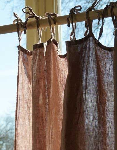 Ready made linen curtains – Casa Comodo