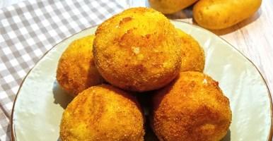 Crocchette di patate con scamorzine affumicate