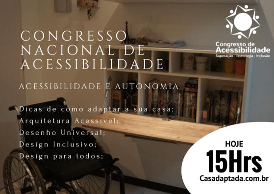 CONGRESSO NACIONAL DE ACESSIBILIDADE