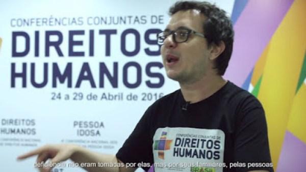 Coordenador-geral do Conade-  Anderson Correia- Pessoas com deficiência- casadaptada