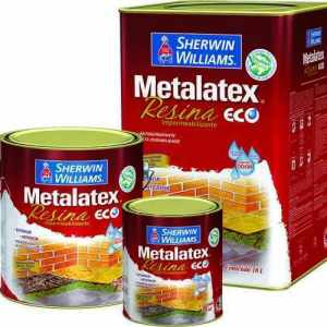 Resina Metalatex Eco Base D'Água Shewin Williams – Incolor 18L