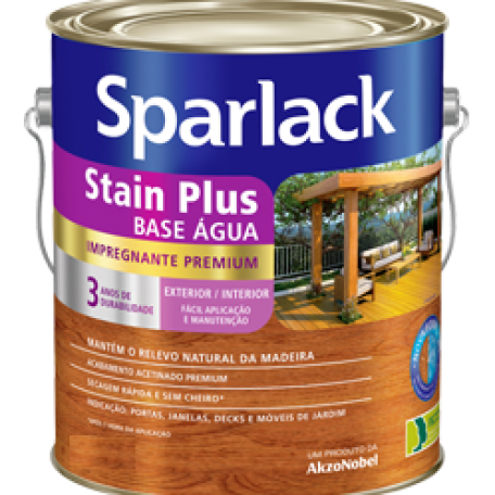 sparlack stain plus base agua