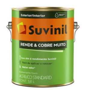TINTA ACR. SUVINIL RENDE E COBRE MUITO CAPIM LIMÃO 3,6L
