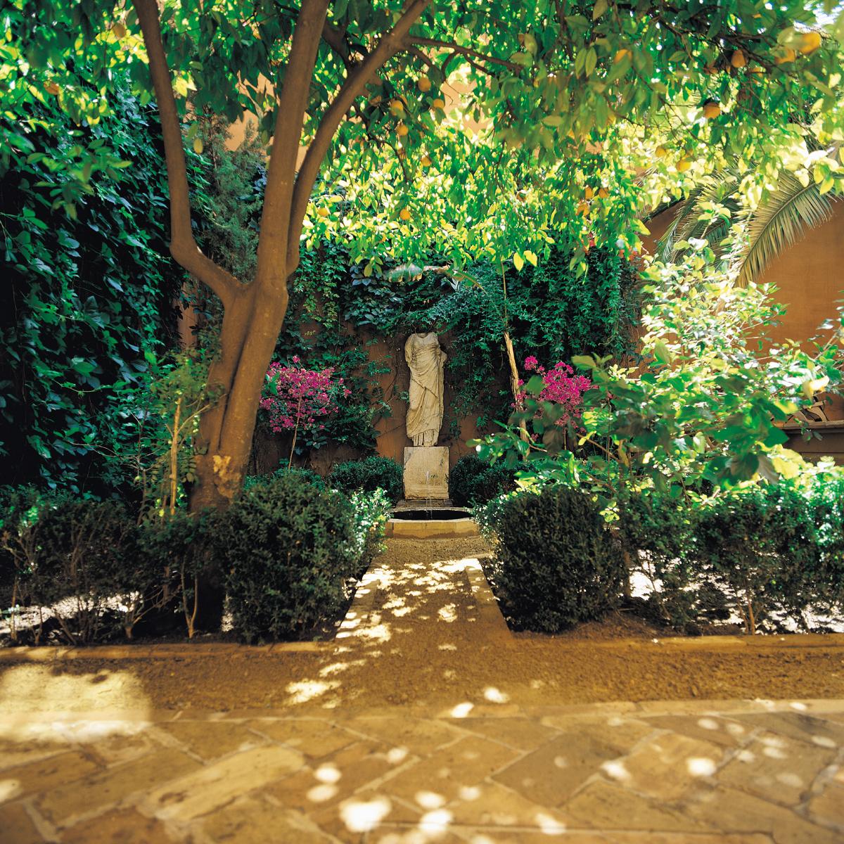 Patios and Gardens  Casa Palacio de Carmona