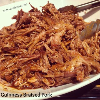 Guinness Braised Pork {a recipe}