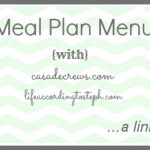 Meal Plan Menu #2