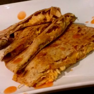 Foodie Friday: Buffalo Chicken Quesadillas {a recipe}