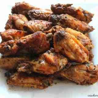 Salt and Vinegar Chicken Wings for #SundaySupper