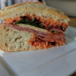 "Muffaletta for ""Fat Sunday"" and #SundaySupper"