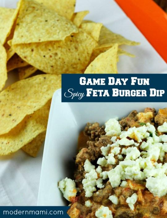 game-day-recipe-spicy-feta-burger-dip-modernmami