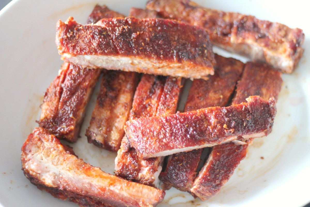 St. Louis Ribs with a Dry Rub Recipe [low-carb]