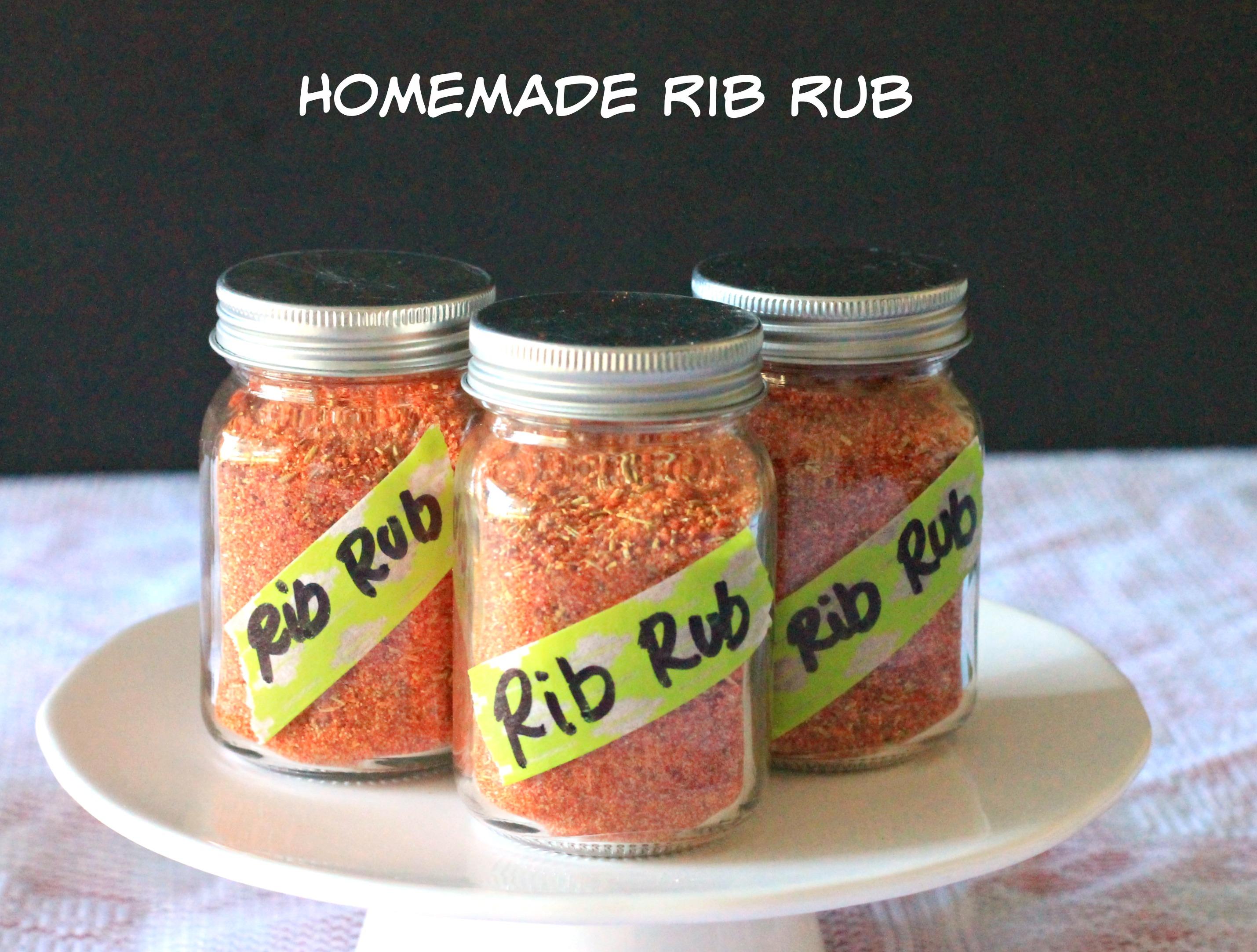 Easy dry rib rub recipes