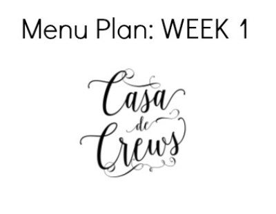 Menu Plan Logo