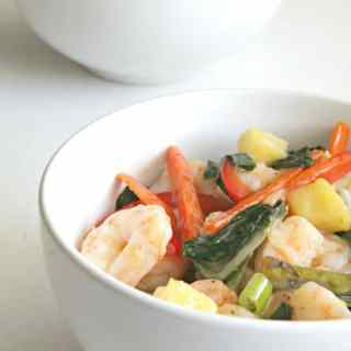 Tropical Shrimp Stir-Fry