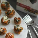 Chorizo Stuffed Mushrooms for #SundaySupper