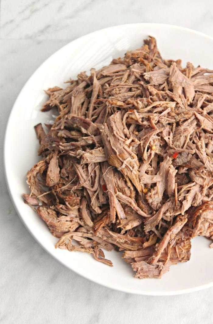 Crockpot Balsamic Roast Beef for #WeekdaySupper