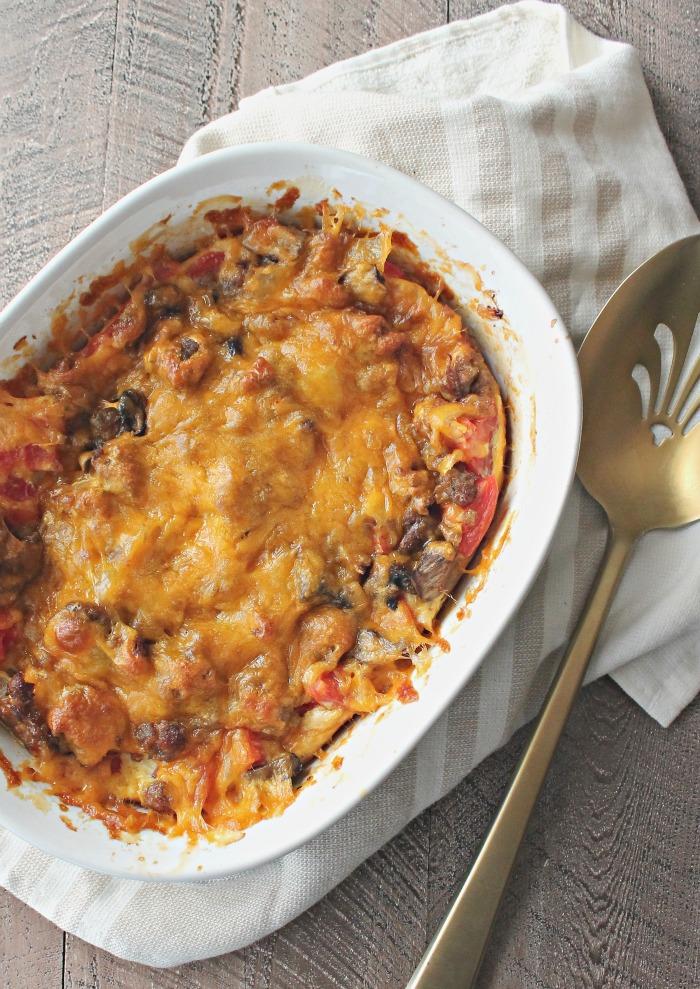 Sausage Brunch Bake | casadecrews.com