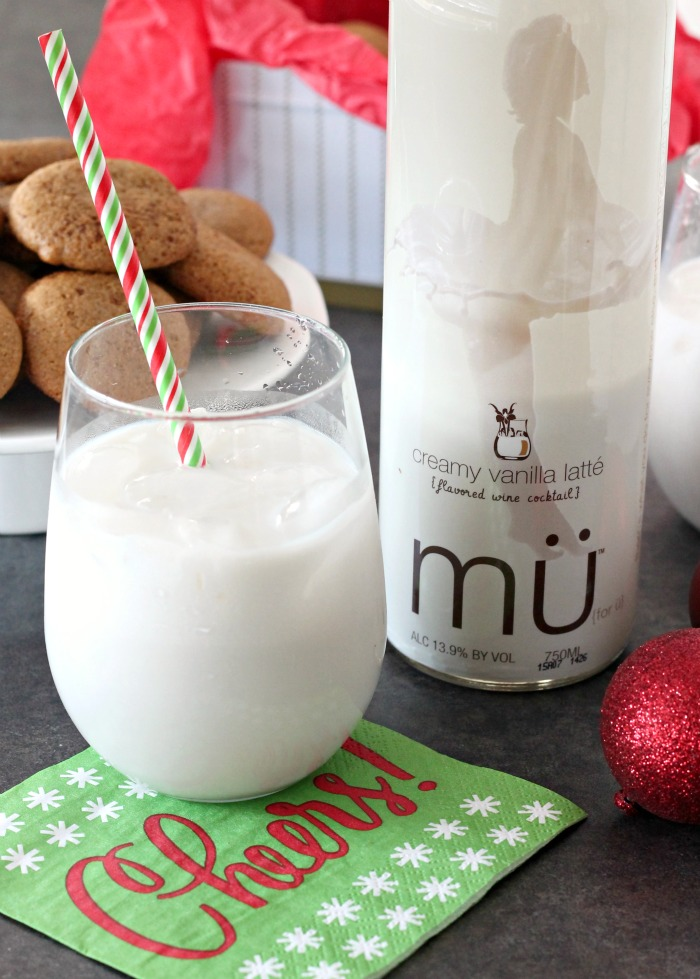 Msg 4 21+ Soft Ginger Cookies paired with coffeehouse cocktails #muBARista #ad