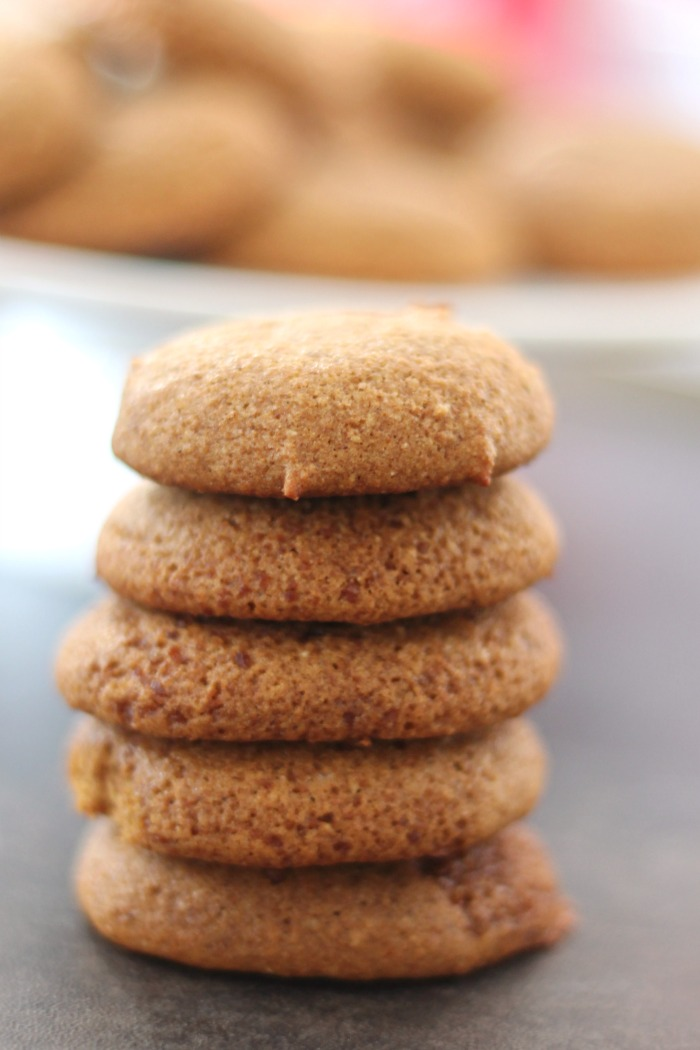 Soft Ginger Cookies paired with coffeehouse cocktails #muBARista #ad