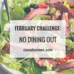 February Challenge: No eating out challenge