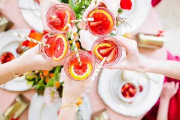 Sparkling Grapefruit Sangria recipe   casadecrews.com