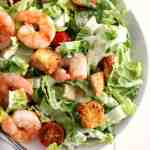 Buffalo Shrimp Caesar Salad