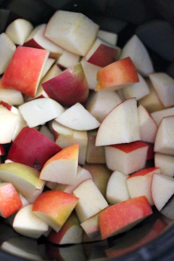 slow-cooker apple butter (paleo) #brunchweek | casadecrews.com