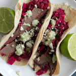 Blue Cheese Brisket Tacos