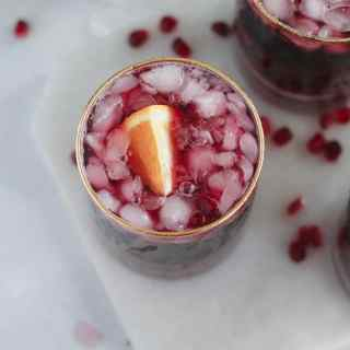 Pomegranate Pinot Punch