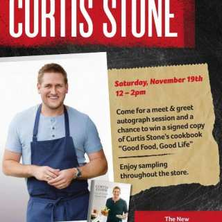 Chef Curtis Stone Comes (and a giveaway)