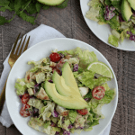 Chipotle Ranch Chopped Chicken Salad