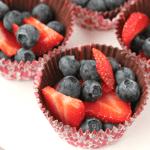 Chocolate Fruit Cups