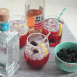 Blackberry Rosé Margarita #BerryDelish #FWCon