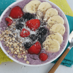 Mixed Berry Smoothie Bowl with Greek Yogurt