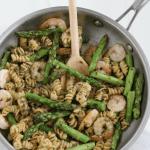 Pesto Shrimp Pasta