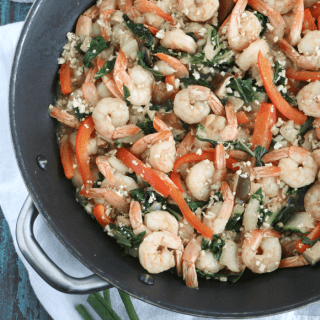 Garlic Ginger Shrimp Stir-Fry [meal prep]