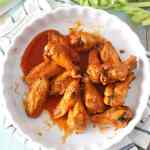 Crispy Buffalo Wings [low-carb]