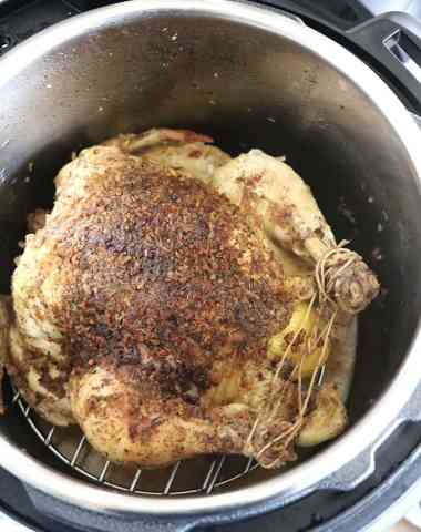 Instant Pot Whole Chicken: ready in 45 minutes!