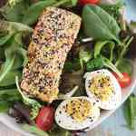 everything bagel salmon salad