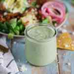 Avocado Ranch Dressing [low-carb, homemade]
