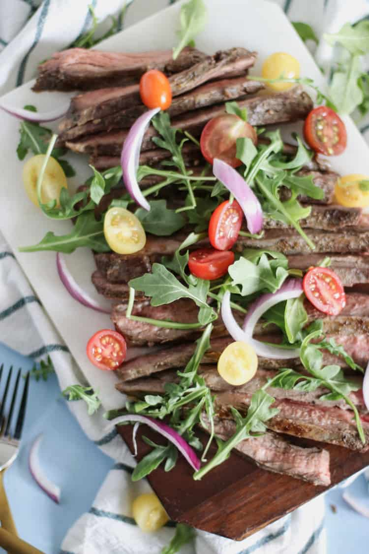 Sous-Vide Flank Steak